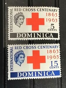 Dominica stamps QEII Red Cross centenary MNH