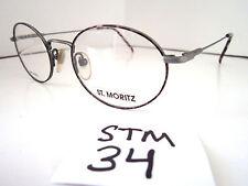 Vintage 1980s Sun/Eyeglasses Frame #Sacchi-Antique Grey by St. Moritz (Stm-34)