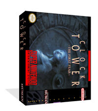 Clock Tower SNES Replacement Game Case Box + Cover Artwork Art (No Game)