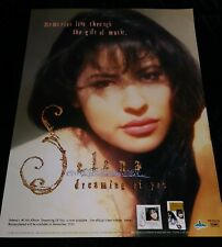 "SELENA QUINTANILLA ""DREAMING OF YOU"" EMI LATIN 1995 RARE PROMOTIONAL POSTER"