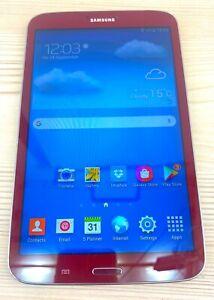 Samsung Galaxy Tab 3 | 16GB | Wi-Fi | Android 7 Inch Tablet | Garnet Red