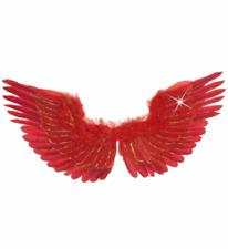 Rosso Piumato Wings 86x31cm Accessorio Per Costume-Angelo Piumate VARI