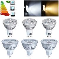 10x 4W GU10 / MR16 LED Bulbs Spotlight High Power 35w Spot Bulb Lamp Downlight