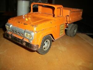 tonka hiway truck 1950s selling for repair or parts as seen as is