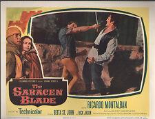 The Saracen Blade 1954 lobby card #nn