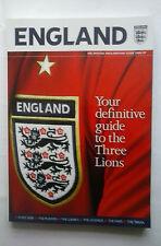 Inghilterra: la GUIDA UFFICIALE TIFOSI INGHILTERRA 2006/07. guida ai Tre Leoni.