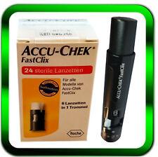 FastClix ACCU CHEK 4x6er Trommeln 1 x 24 St | + Stechhilfe ►Händler◄