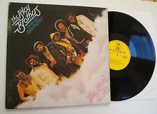 ISLEY BROTHERS - THE HEAT IS ON LP NR MINT VINYL Rare 1975 UK 1st Press Funk