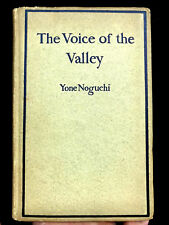 Scarce 1897 FIRST EDITION Yone Noguchi THE VOICE OF THE VALLEY - Yosemite Poetry