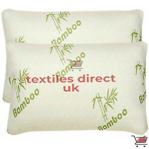 Bamboo Hollowfibre Orthopaedic Pillow Ultra Soft  Anti-Bacterial Head Neck Back