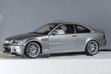 BMW M3 E46 CSL Gris/Grey/Grau 1/18ème KYOSHO dealer edition 80430302734 RARE !