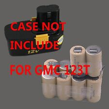 Battery Repacking refilling Pack For GMC 12V 2.0Ah Ni-Cd 123T Cordless Drill