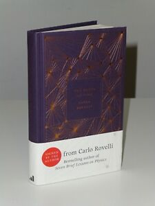 SIGNED 1st Print The Order Of Time Carlo Rovelli Allen Lane 2018 UK HB