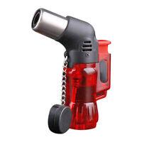Mini Refillable Butane Jet Torch Windproof Lighter Plastic Fire Ignition Burner