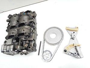 Audi VW Seat 2.0 TDI oil pump 03G103537B with new chain tensioner sprockets hex