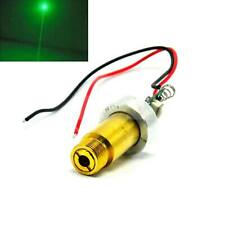 Industrial 12v Thick Beam 60mw-80mw 532nm Green Laser Dot Module W/ttl& Fan Cool