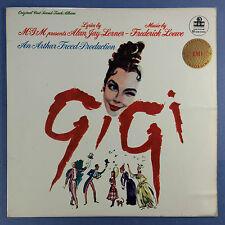GIGI - ORIGINALE FUSO COLONNA SONORA - MGM cs-6001 STEREO VG+ CONDIZIONI