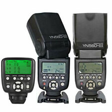 Yongnuo YN560TX II LCD Wireless Flash Controller+2pcs YN560 III Flash For Canon