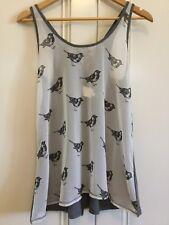 Anthropologie -Eloise- Size S Ladies Sleeveless Sparrow Top