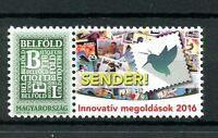 Hungary 2016 MNH Innovative Solutions Sender 1v Set Stamps on Stamps