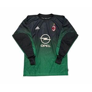 🔥AC Milan 2002/03 Goalkeeper Football Shirt Original Adidas - Small🔥