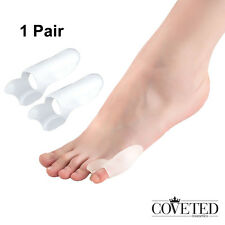 Small Toe Separators Stretchers Bunion Splint Toe Straightener Alignment 1 Pair