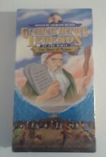 Greatest Heroes and Legends of the Bible - The Story of Moses VHS Movie
