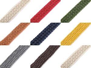 Gurtband 25mm aus BAUMWOLLE 12 Meter Baumwollgurtband 1,04 EUR//m