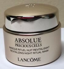 Lancome Absolue Precious Cells Revitalizing Night Ritual Mask 0.5oz/15ml NEW