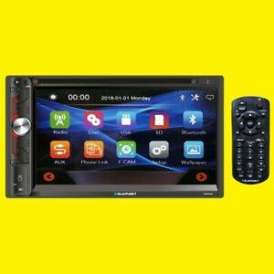 "BLAUPUNKT NAPA65  6.9"" Double Din Touchscreen DVD Receiver w/ Bluetooth + Remote"