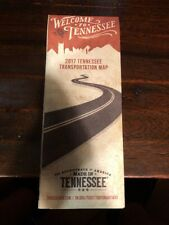Welcome To Tennessee Official Highway Map 2017 Transportation  **Nice**
