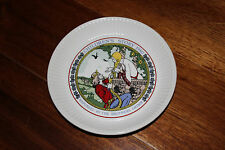 Wedgwood Children's Story 1980 Collector Plate Rapunzel The Brothers Grimm 6""