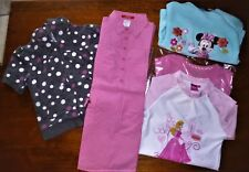 LOT FILLE-PRINTEMPS ETE -ROBE-VESTE SWEAT -POLAIRE HAUT DISNEY PRINCESS-T.4 ANS