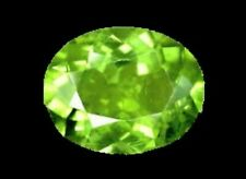 PERIDOT GEM OVAL CUT 1 CT LIME GREEN PAKISTAN GENUINE GEMSTONE NATURAL LOOSE VS