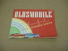 1948 Oldsmobile Olds 60 70 series convertible coupe sedan sales brochure dealer