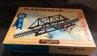 Vintage Plasticville HO Model Trestle Bridge 2810 + Bonus 14 Piece Trestle Set