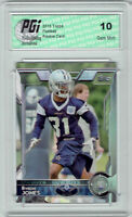 Byron Jones 2015 Topps Football #417 Dallas Cowboys Rookie Card PGI 10