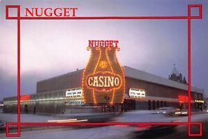 Nugget Casino Carson City Nevada Bright Spot Vintage Postcard B17