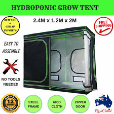 Hydroponics Grow Tent Ventilation Kit Aluminum Interior Oxford Cloth Indoor Room