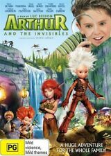 Arthur And The Invisibles (DVD, 2007) KIDS ANIMATED MOVIE - LUC BESSON - Reg 4