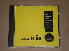 WHAT IT IS! (APOLLIS, SOUL MACHINE, HILTON FELTON) - CD COME NUOVO (MINT)
