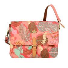 Oilily Botanic Pop Flat Shoulder Bag M Umhängetasche Rosa Pink Mehrfarbig