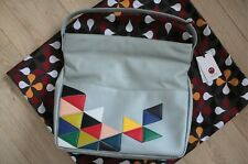 YOSHI Lunar grey genuine leather bag, NEW! RRP £110