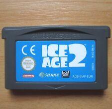 GAME BOY Spiel ICE AGE 2 Nintendo Advance AGB-BIAP-EUR 2006 Modell AGB-002 gut