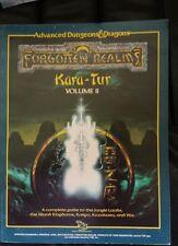 Kara-tur Tomo 2 Ii folleto Dungeons & Dragons Rpg de piezas de recambio no ISBN