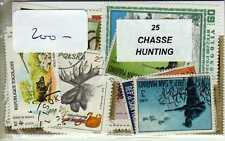CHASSE 25 timbres différents
