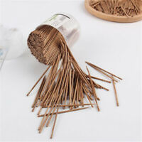 800pc Bamboo Cocktail Toothpick Fruit Picks Wedding Party Decor Disposable N7
