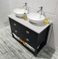 Painted Vanity Bathroom Cabinet Wash Stand 1200mm Sid Surface Top, Any Colour