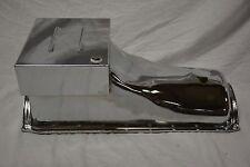 CHROME 1970-82 FORD Small Block 351C 351M 400 V8 5.8L 6.6L 8QT OIL PAN SBF