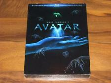 Avatar (Blu-ray Disc, 2010, 3-Disc Set, Extended Collectors Edition) Slip Cover